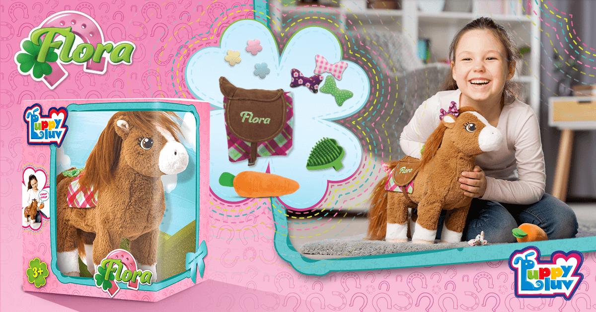 Interaktywny konik Flora - zabawka, którą pokochały dzieci. Sprawdź opinie rodziców